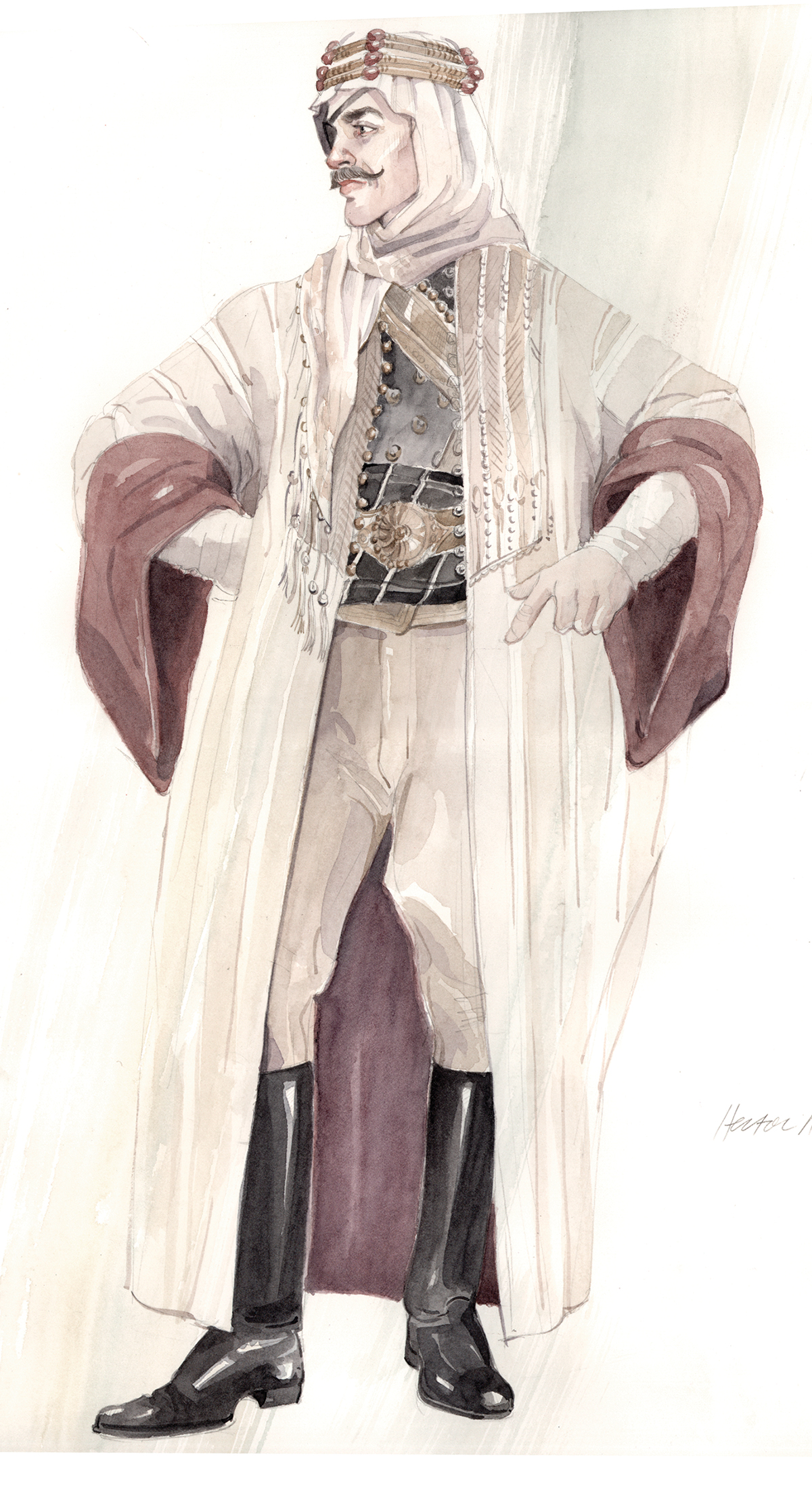 HH-Hector-arab-robes