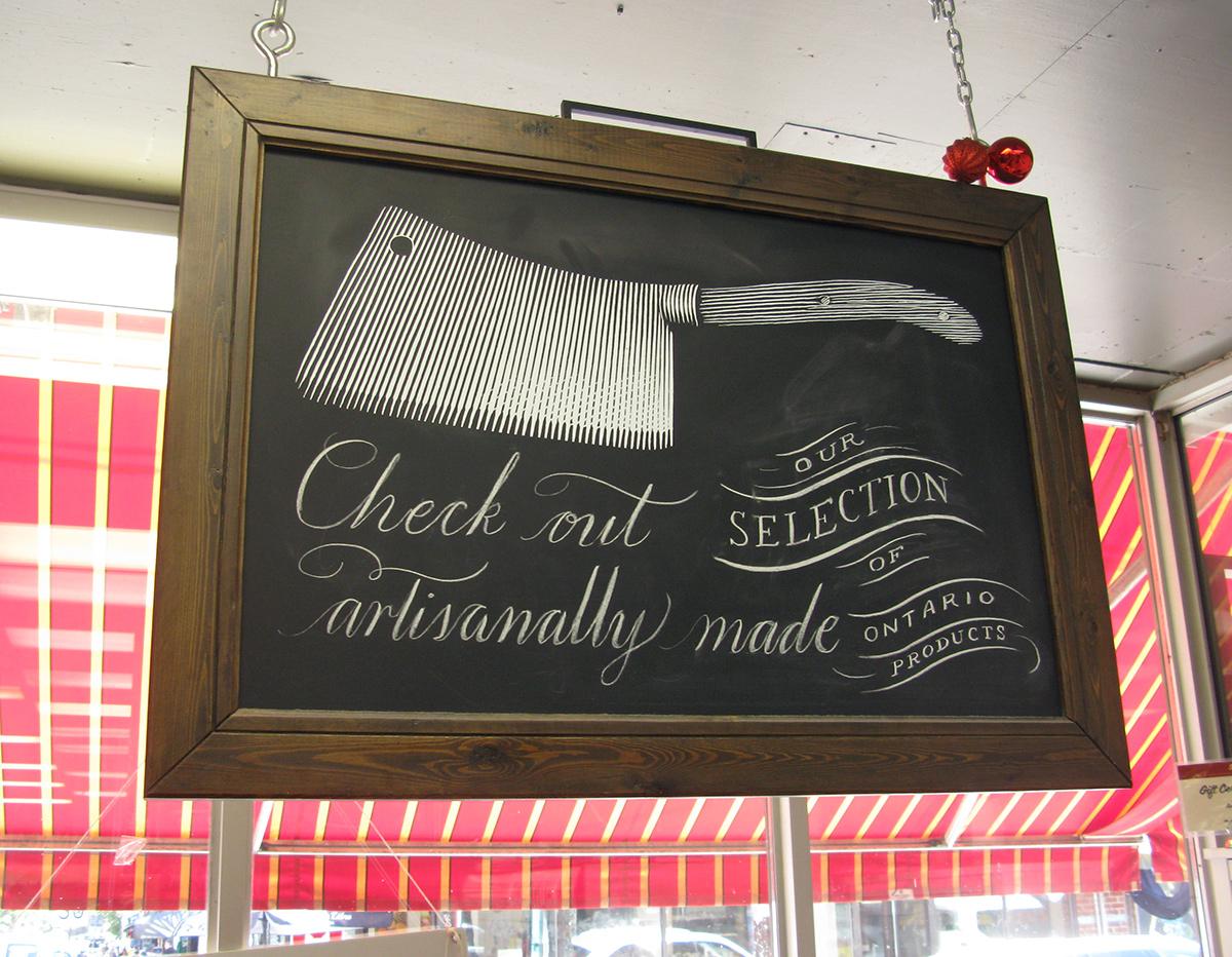 Sanagan's-cleaver-signage