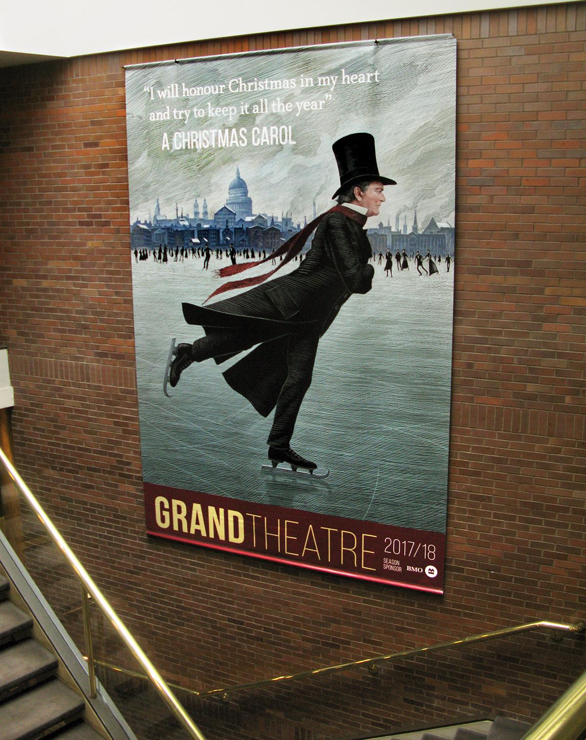 Theatre-CAROL-stairwell-banner